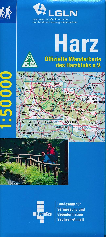 Wandelkaart Harz | LVA Nordrhein Westfalen
