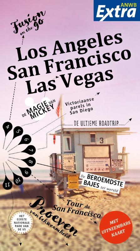 Reisgids ANWB extra San Francisco - Los Angeles - Vegas | ANWB Media