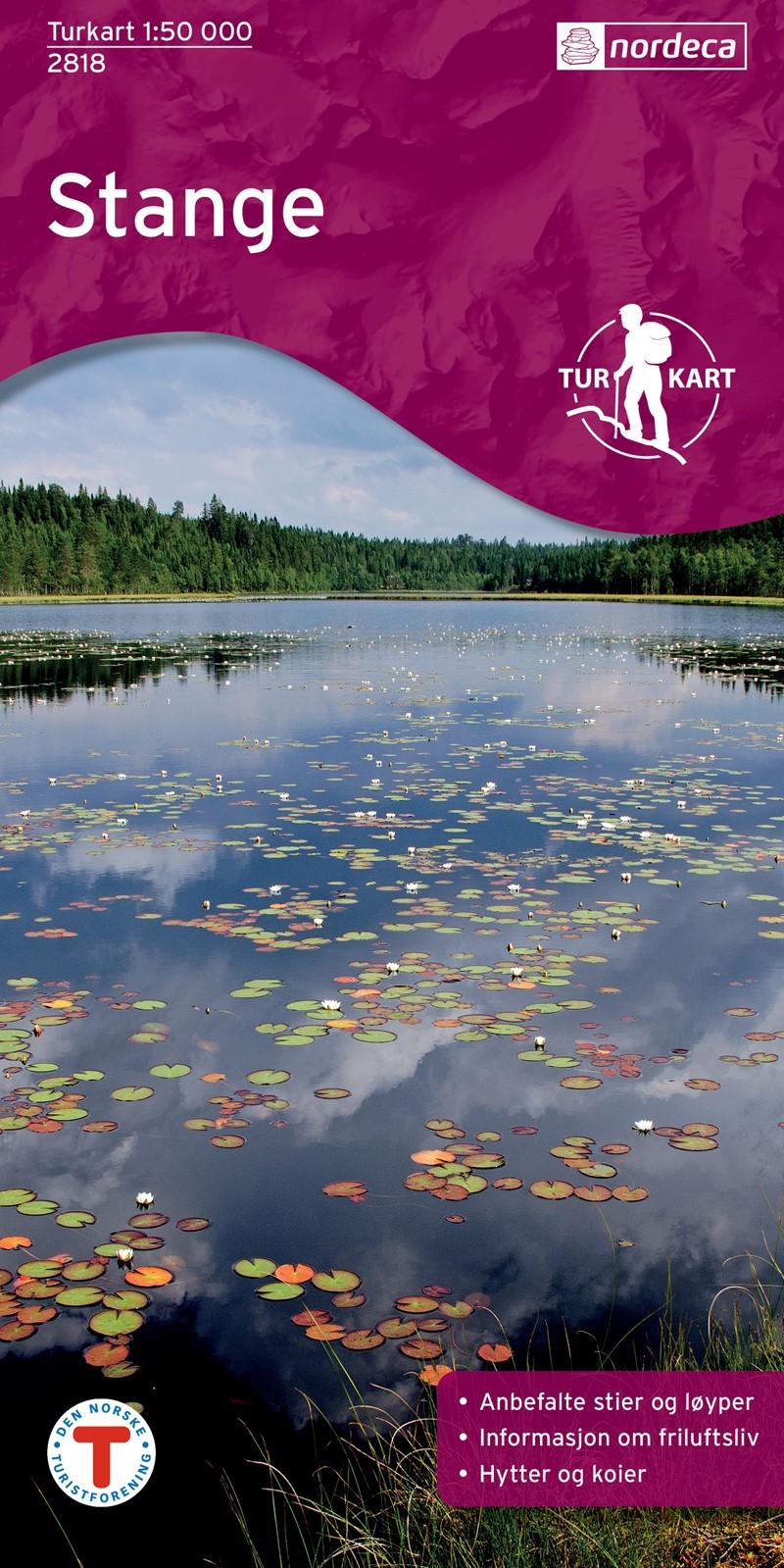 Wandelkaart 2818 Turkart Stange | Nordeca