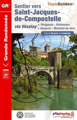 Wandelgids Perigueux - Roncevaux (Santiago de Compostela - Sint Jacobsroute) | FFRP