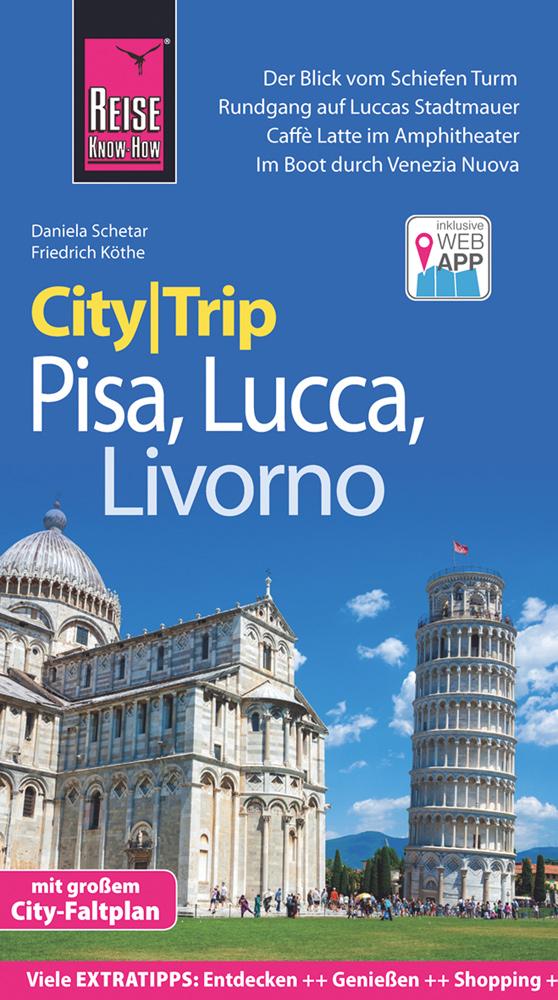 Reisgids CityTrip Pisa, Lucca, Livorno | Reise Know-How Verlag