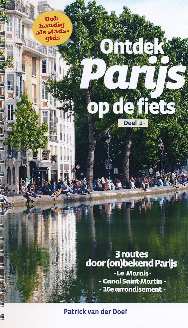 Fietsgids Ontdek Parijs per fiets deel 1 | Pirola
