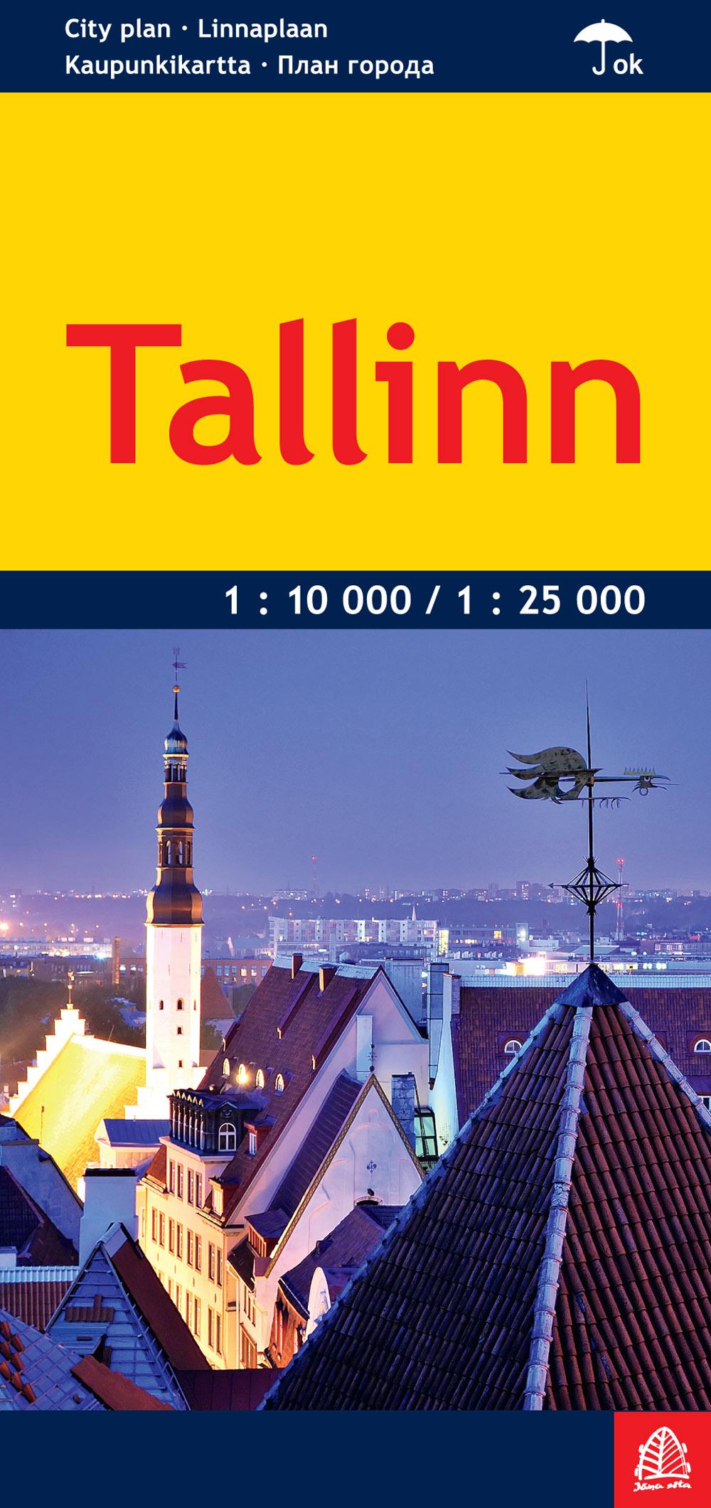 Wegenkaart - landkaart - Stadsplattegrond Tallinn | Jana Seta