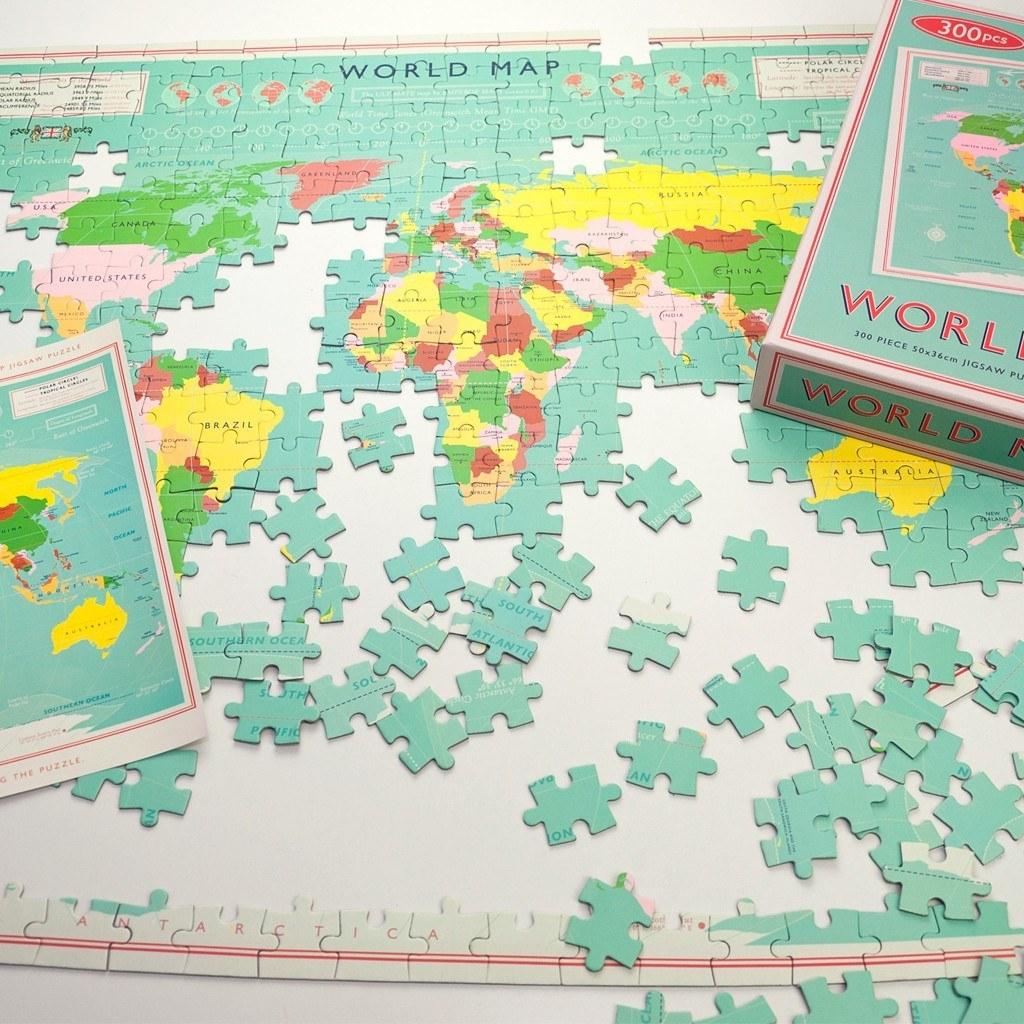 Wereld kado puzzel vintage world map jigsaw dotcomgiftshop wereld kado puzzel vintage world map jigsaw dotcomgiftshop gumiabroncs Images