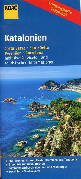 Online bestellen: Camperkaart - Wegenkaart - landkaart Catalonië - Katalonien | ADAC