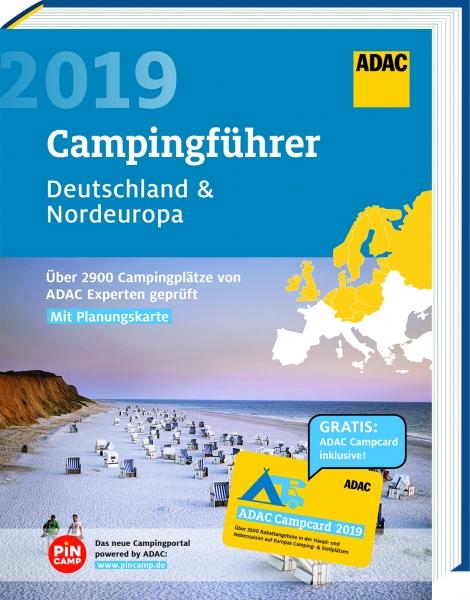 Campinggids Campingführer Deutschland & Nordeuropa - Duitsland & Noord Europa 2019 | ADAC