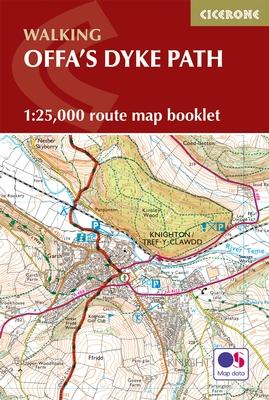Wandelkaart Offa's Dyke Path - Wales | Cicerone