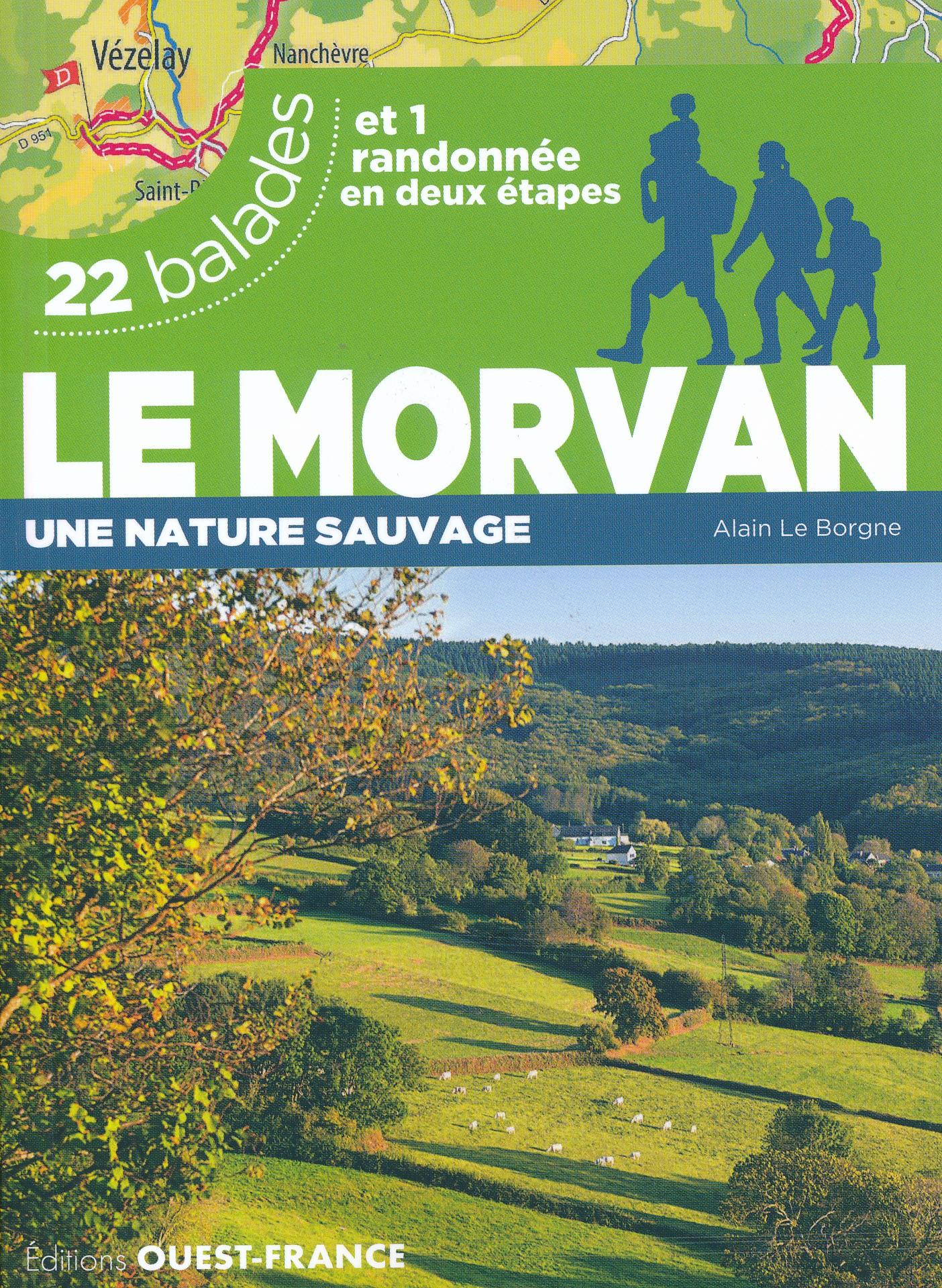 Wandelgids Le Morvan | Editions Ouest-France