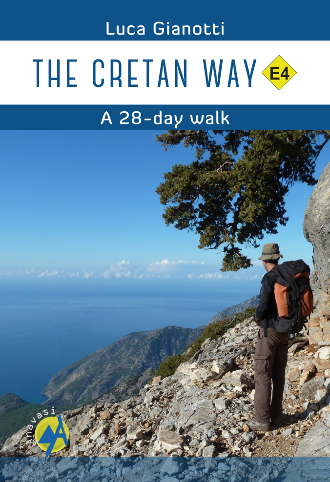 Wandelgids The Cretan Way E4 | Anavasi