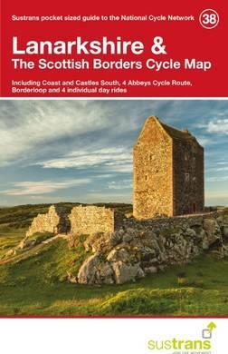 Fietskaart 38 Cycle Map Lanarkshire & The Scottish Borders | Sustrans