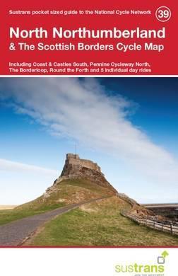 Fietskaart 39 Cycle Map North Northumberland & The Scottish Borders | Sustrans