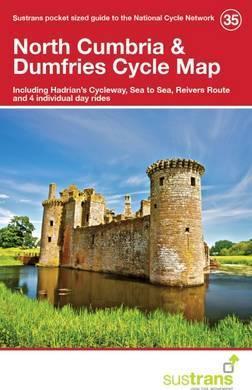 Fietskaart 35 Cycle Map North Cumbria & Dumfries | Sustrans de zwerver
