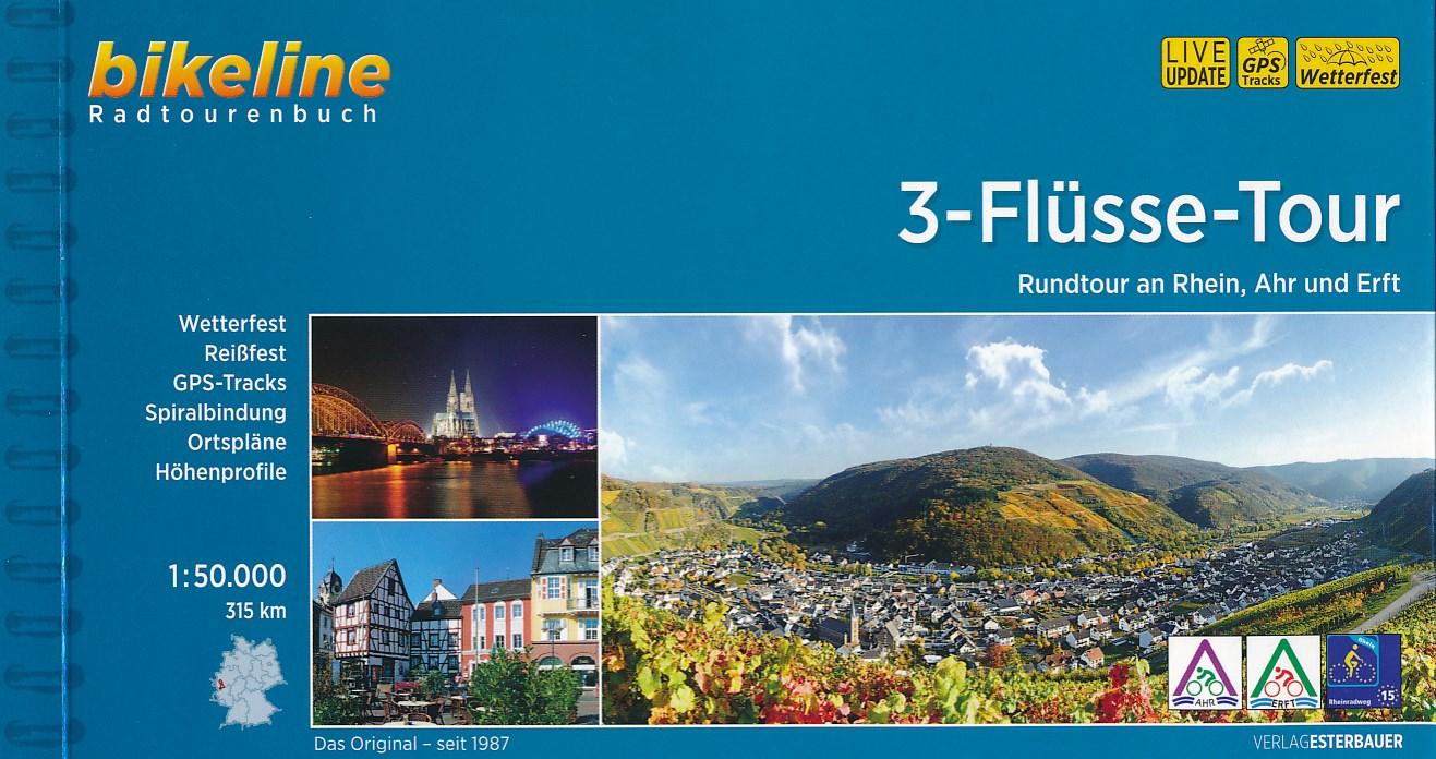 Fietsgids Bikeline 3-Flüsse-Tour | Esterbauer
