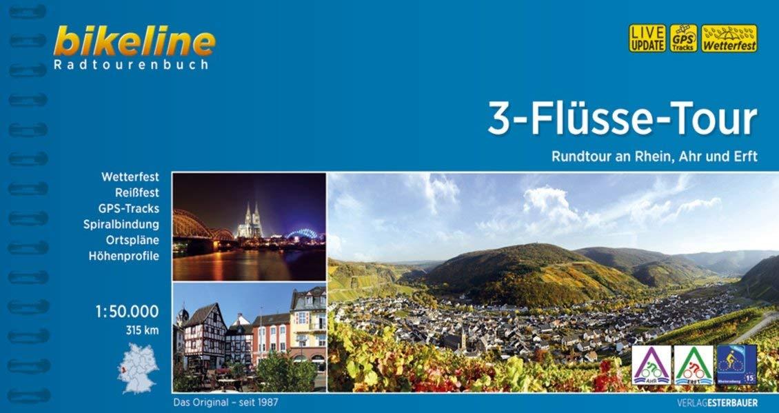 Fietsgids Bikeline 3-Flüsse-Tour | Esterbauer de zwerver