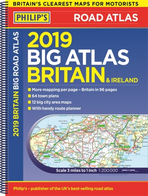 Wegenatlas Big Atlas Britain & Ireland 2019 | Philip's