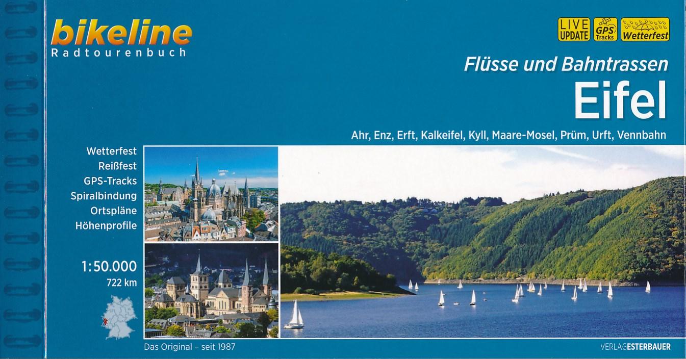 Fietsgids Bikeline Eifel, Flüsse und Bahntrassen | Esterbauer