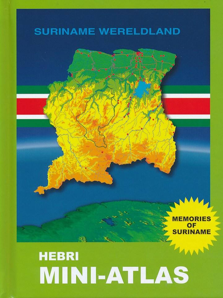 Online bestellen: Mini-atlas Suriname Wereldland | Hebri