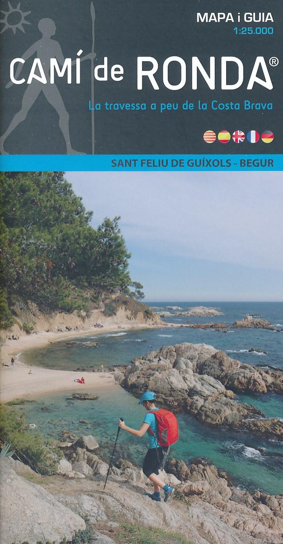 Wandelkaart Cami de Ronda , Sant Feliu de Guixols - Begur | Editorial Alpina