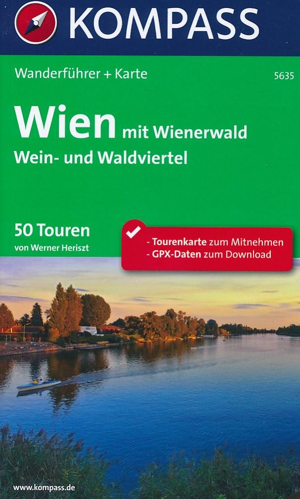 Wandelgids 5635 Wien mit Wienerwald Wanderfuhrer | Kompass