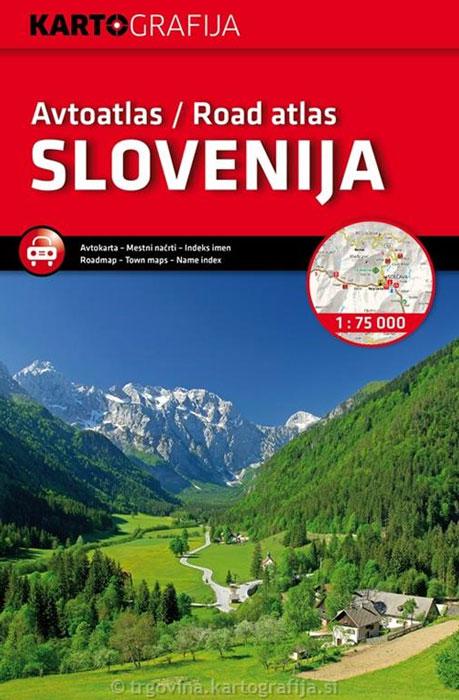 Wegenatlas Slovenija - Slovenië | Kartografija