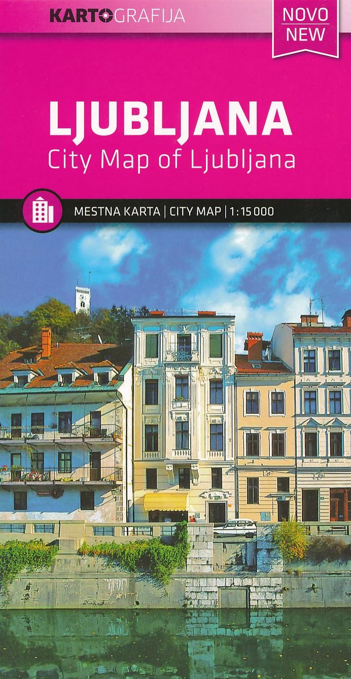 Stadsplattegrond Ljubljana | Kartografija