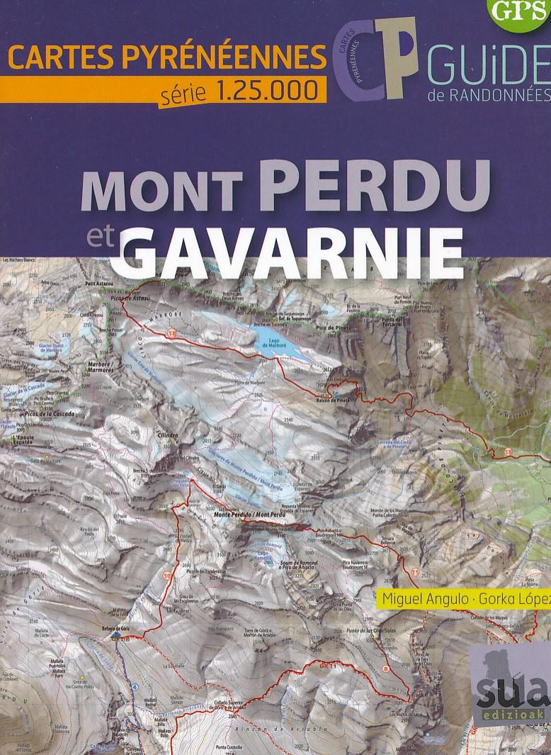 Wandelkaart Mont Perdu - Gavarnie | Sua edizioak