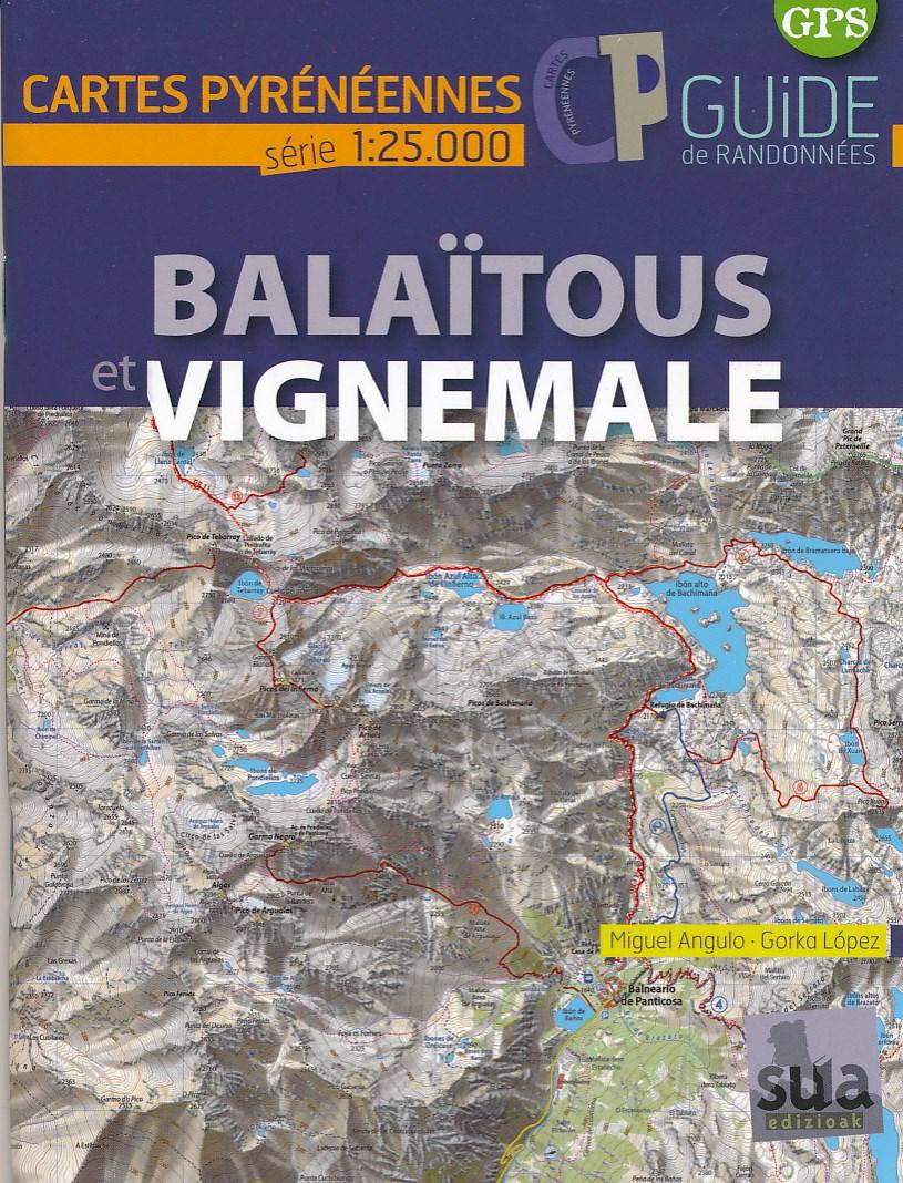 Wandelkaart Balaïtous - Vignemale | Sua edizioak