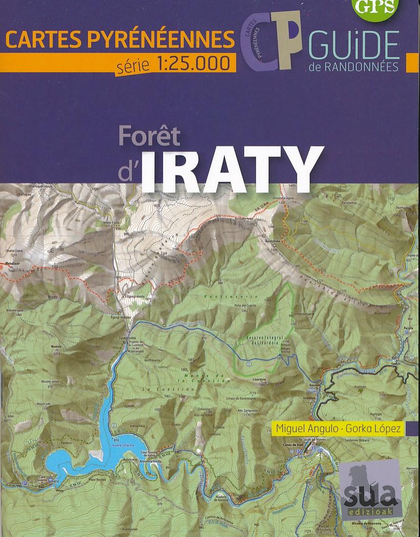 Wandelkaart Foret d'Iraty | Sua edizioak