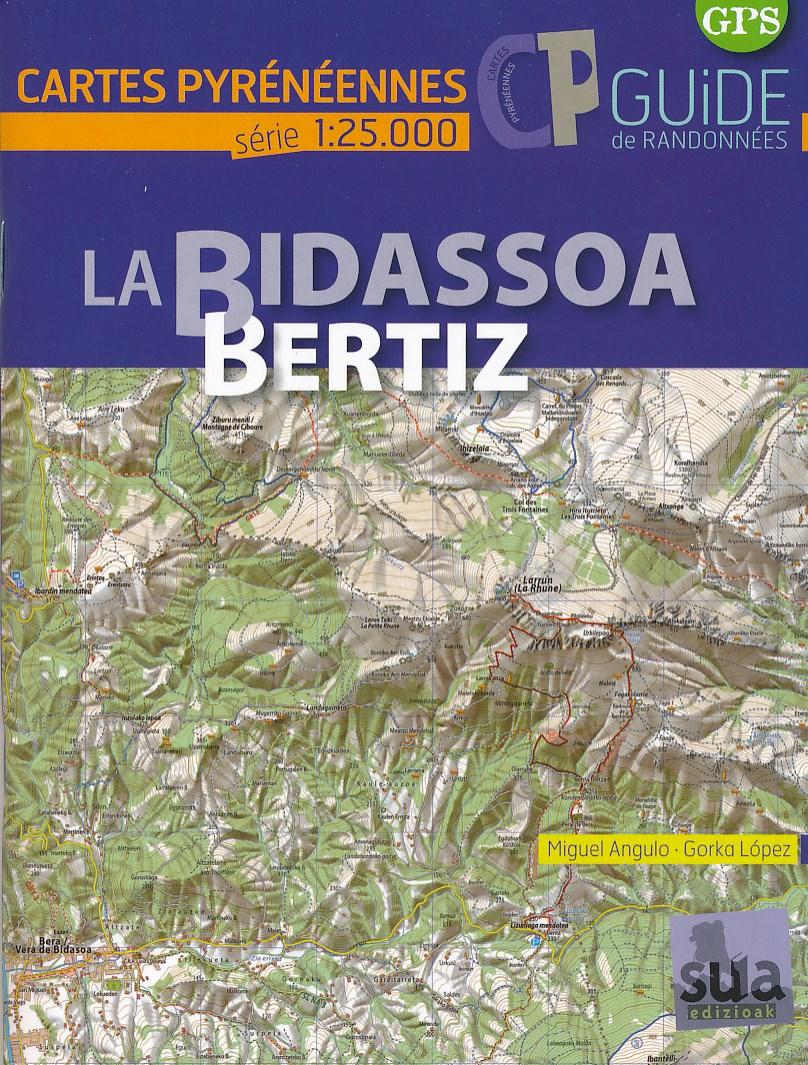 Wandelkaart La Bidassoa - Bertiz | Sua edizioak