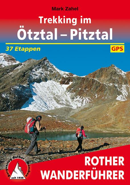 Wandelgids trekking im Otztal - Pitztal | Rother