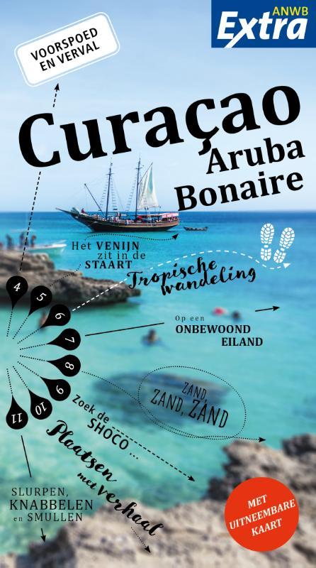 Reisgids ANWB extra Curacao, Bonaire en Aruba | ANWB Media