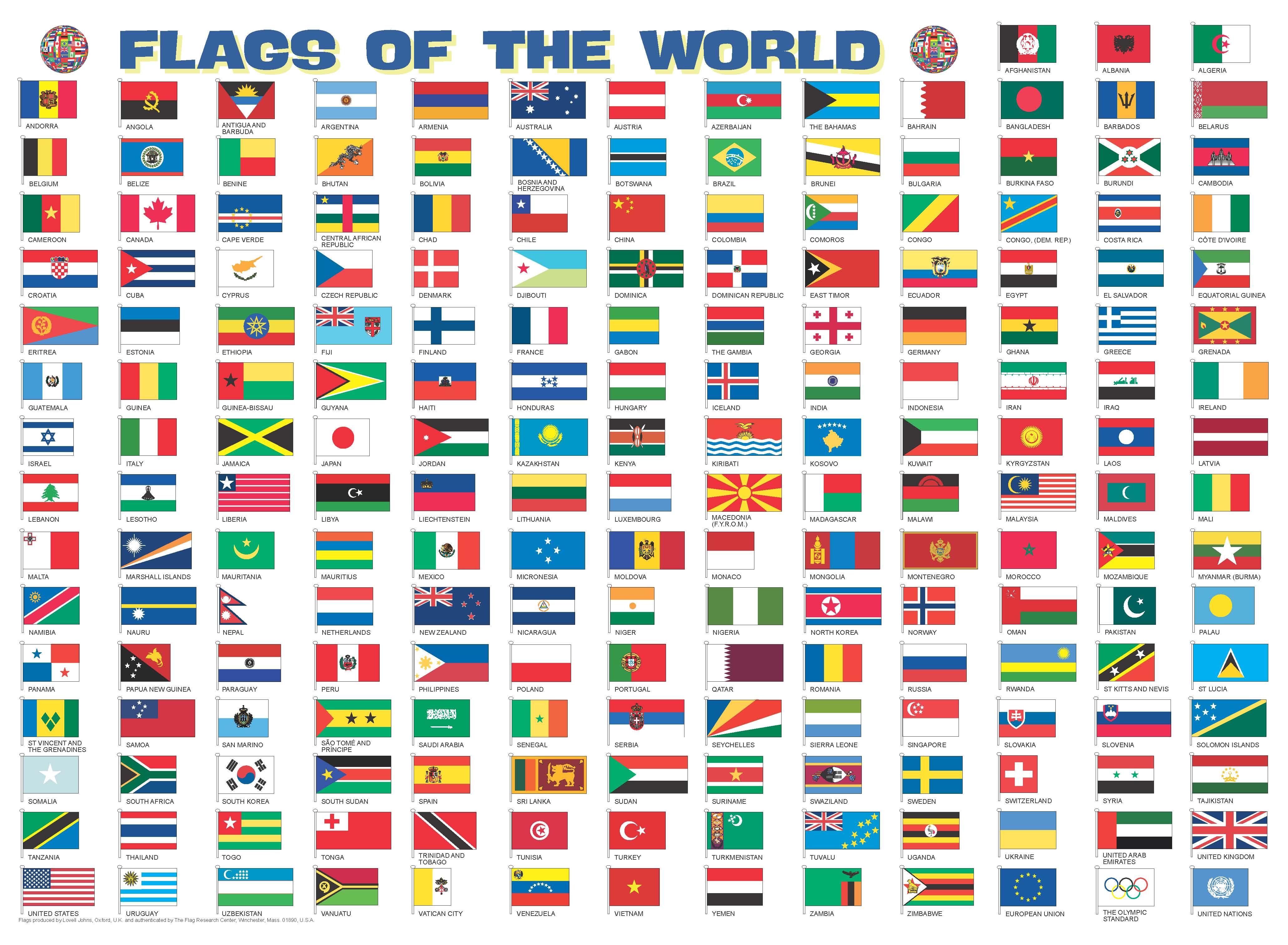 Puzzel Magnetische Puzzel Vlaggen Van De Wereld