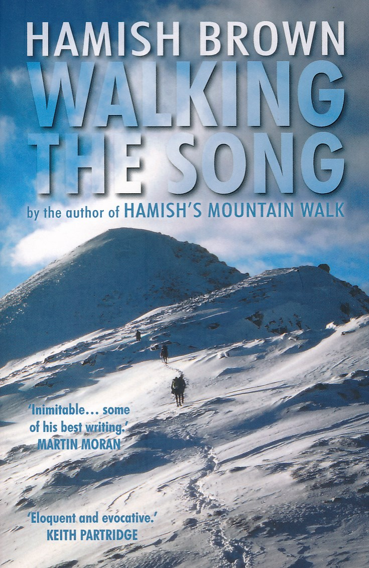 Reisverhaal Walking the Song | Hamish Brown <br/>€ 12.50 <br/> <a href='https://www.dezwerver.nl/reisgidsen/?tt=1554_252853_241358_&r=https%3A%2F%2Fwww.dezwerver.nl%2Fc%2Fboeken%2Freisverhalen%2F9781910985588%2Freisverhaal-walking-the-song-hamish-brown%2F' target='_blank'>Meer Info</a>