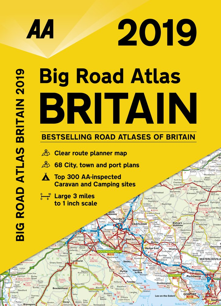 Wegenatlas Big Road Atlas Britain 2019 | AA