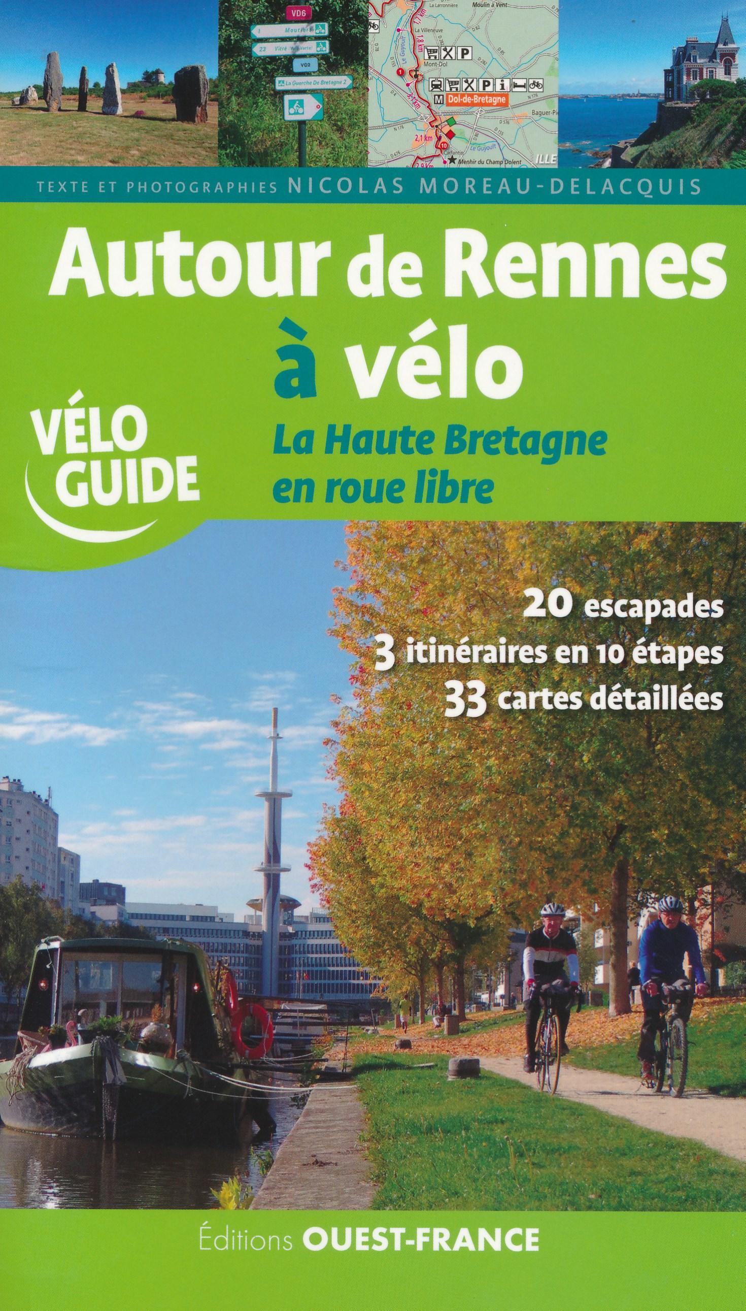 Fietsgids Autour de Rennes à Vélo - Bretagne | Editions Ouest-France