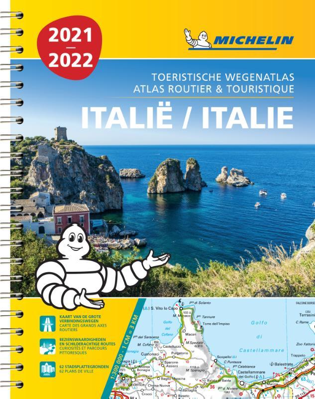 Wegenatlas Italië - Italie 2021 | Michelin de zwerver