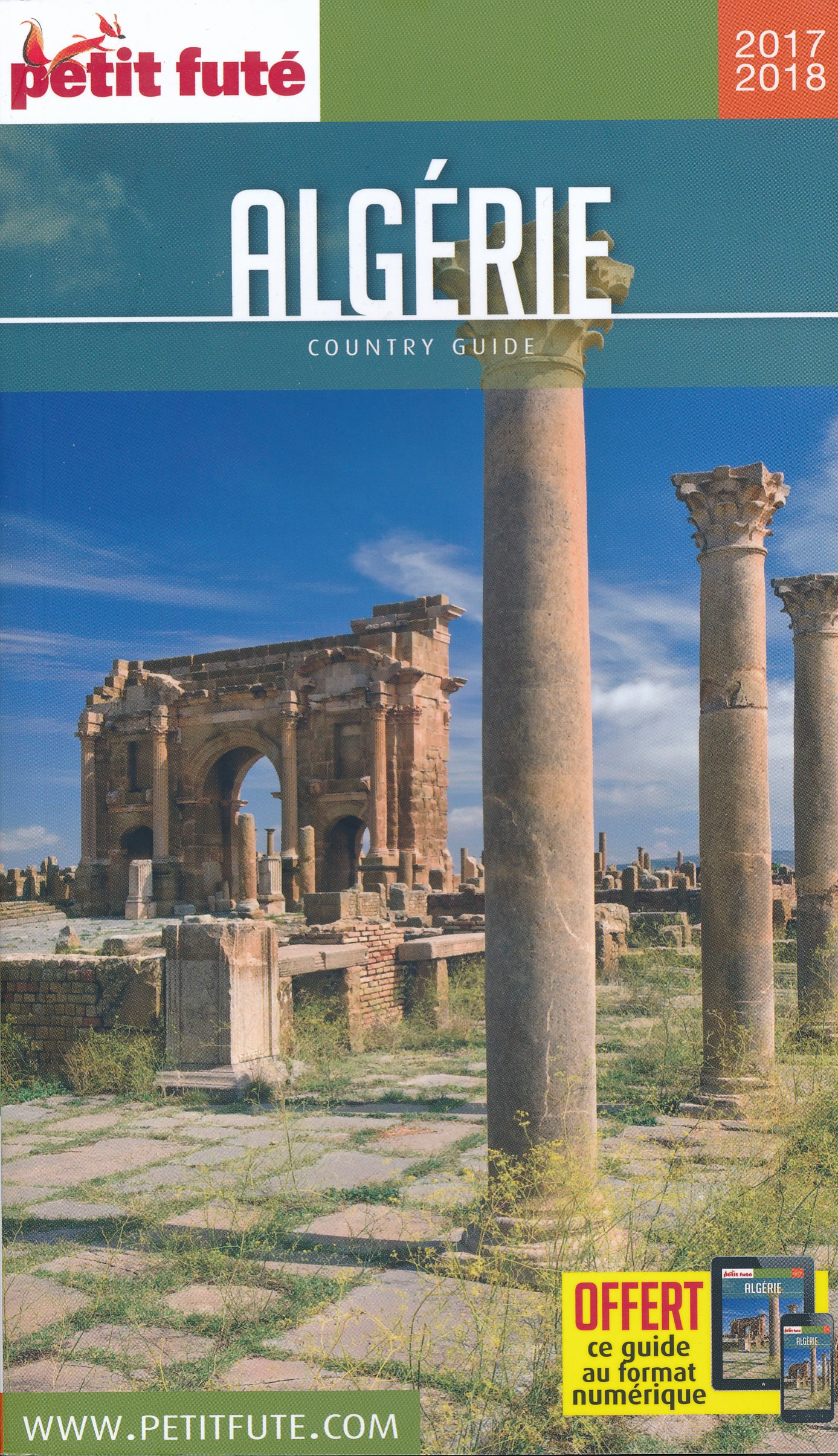 Online bestellen: Reisgids Algerije - Algérie   Petit Futé