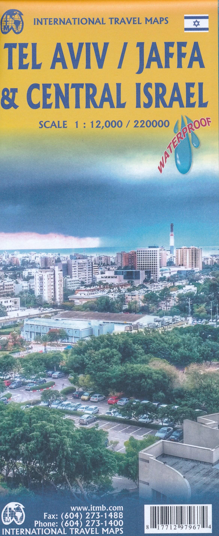 Landkaarten Israel