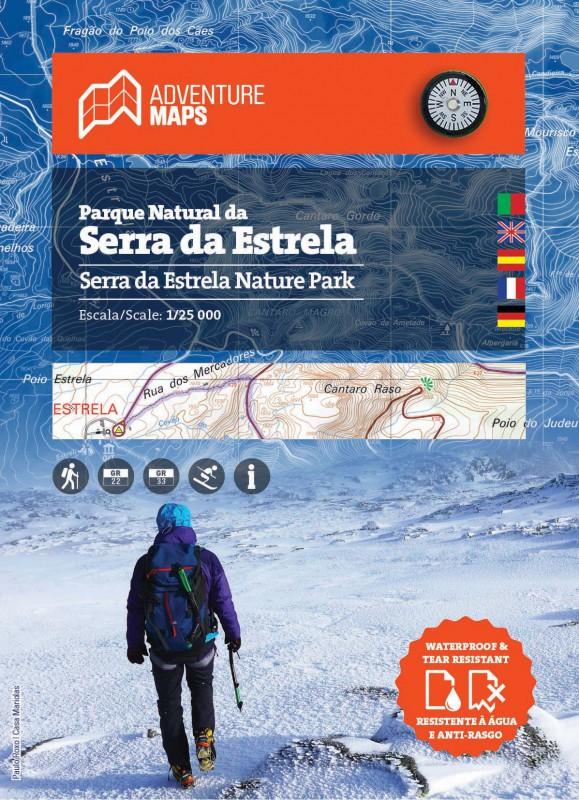 Wandelkaart Parque Natural da Serra da Estrela | Adventure MAPS