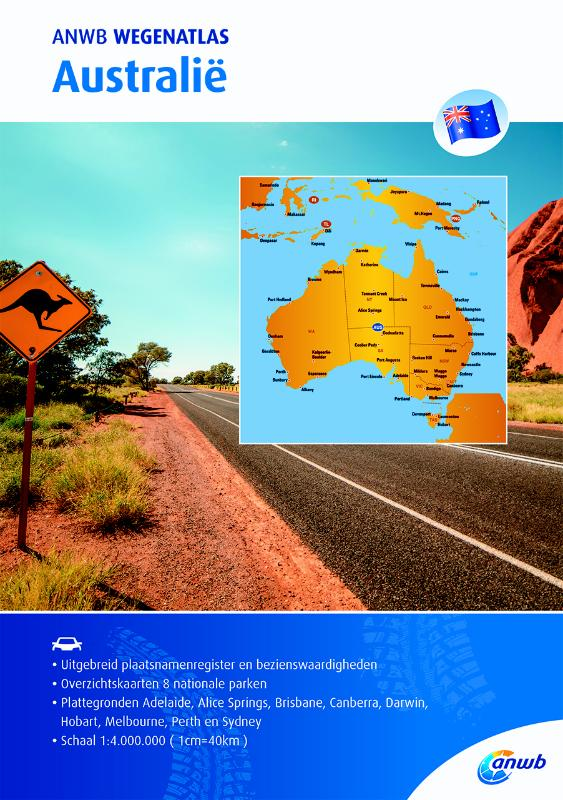 Wegenatlas Australië | ANWB Media