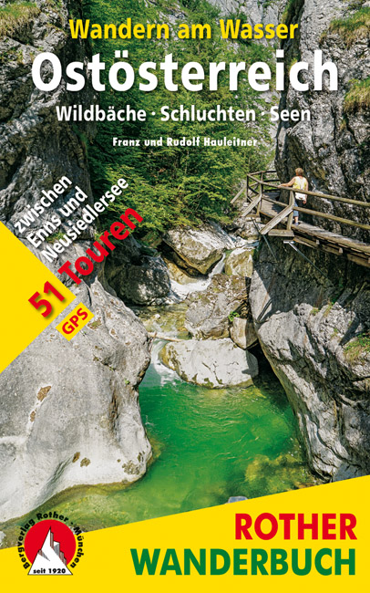Wandelgids Wandern am Wasser Ostösterreich | Rother