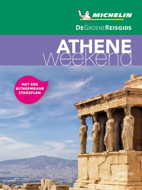 Reisgids Michelin groene gids weekend Athene | Lannoo