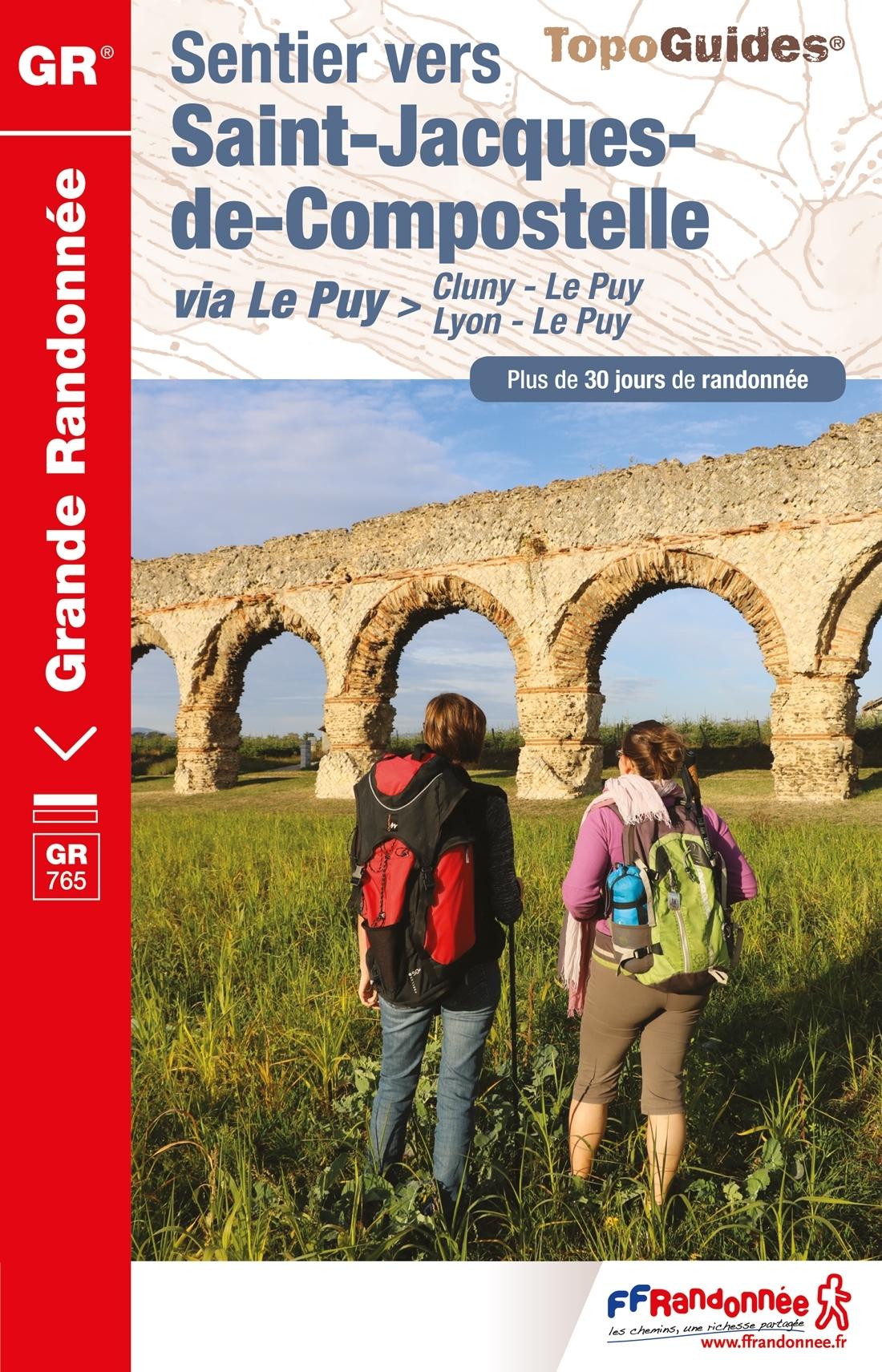 Wandelgids 765 Lyon - Cluny - Le Puy | FFRP