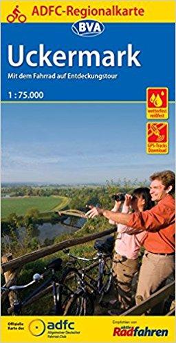 Fietskaart ADFC Regionalkarte Uckermark | BVA