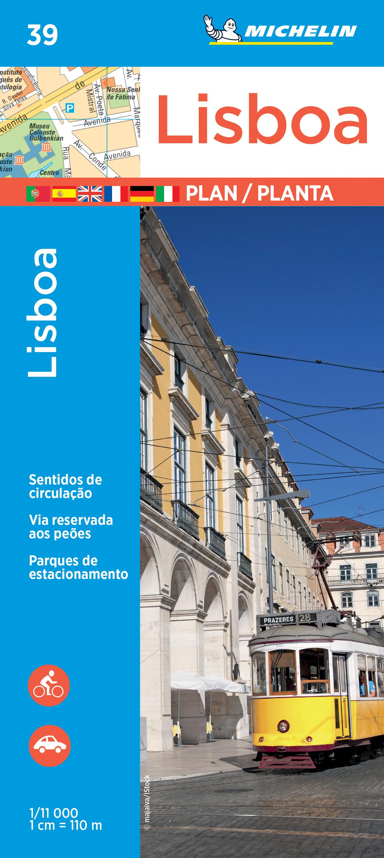 Stadsplattegrond 39 Lisboa - Lissabon | Michelin