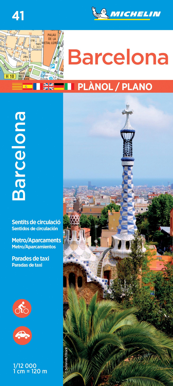 Stadsplattegrond 41 Barcelona | Michelin