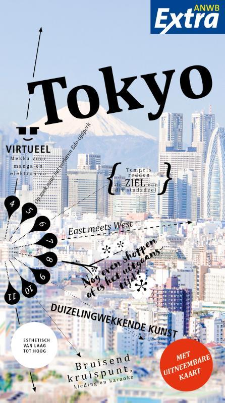Reisgids ANWB extra Tokyo | ANWB Media