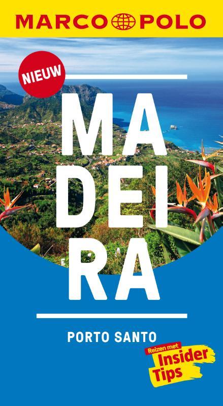 Reisgids Marco Polo NL Madeira | 62Damrak