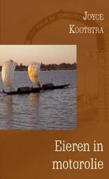 Reisverhaal Eieren in motorolie | Joyce Kootstra <br/>€ 15.50 <br/> <a href='https://www.dezwerver.nl/reisgidsen/?tt=1554_252853_241358_&r=https%3A%2F%2Fwww.dezwerver.nl%2Fr%2Fafrika%2Fburkina-faso%2Fc%2Fboeken%2Freisverhalen%2F9789088340246%2Freisverhaal-eieren-in-motorolie-joyce-kootstra%2F' target='_blank'>Meer Info</a>