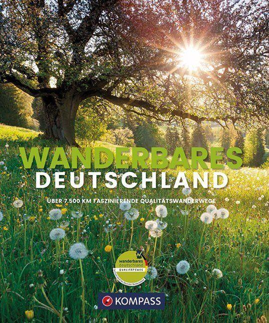 Wandelgids Wanderbildband Wanderbares Deutschland | Kompass
